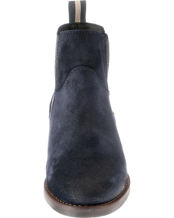 O'Polo Boots Chelsea Marc Marc O'Polo dunkelblau Chelsea B77WOUHgwn