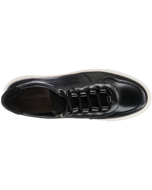 schwarz O'Polo Low schwarz Marc O'Polo Low Marc Marc Sneakers Sneakers O'Polo wISnTORqS