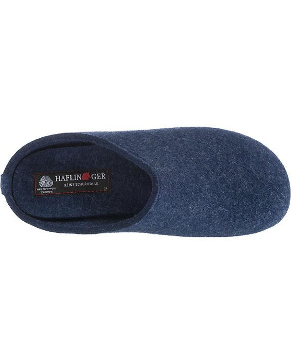 HAFLINGER, Everest Fundus Pantoffeln, Pantoffeln, Pantoffeln, blau ca8248