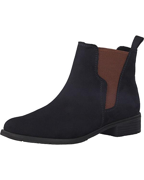 MARCO TOZZI, Chelsea Boots, blau blau blau 152dfe
