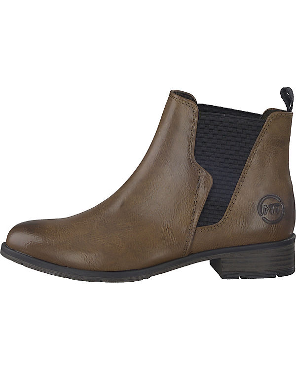 MARCO MARCO MARCO TOZZI, Chelsea Boots, braun 4a4549