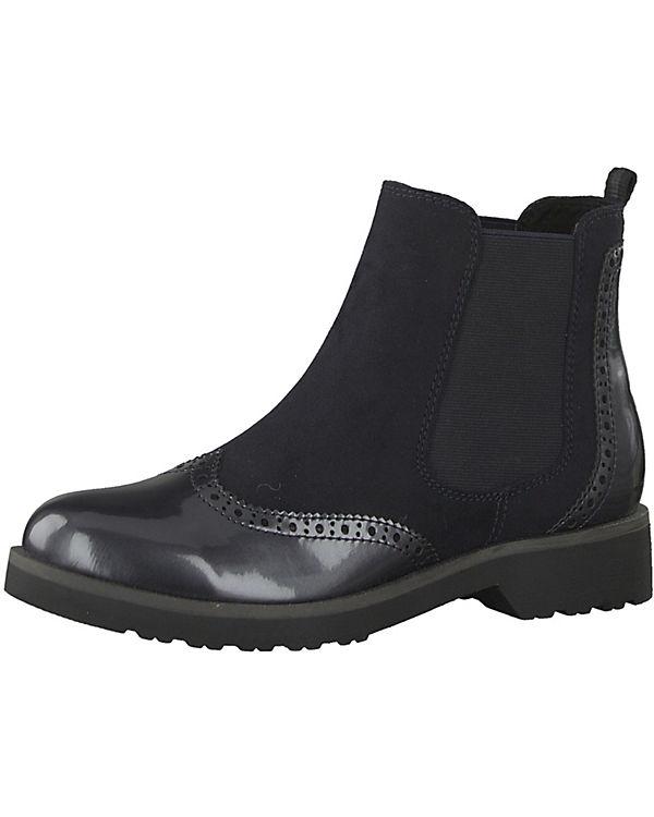MARCO TOZZI, Feel Chelsea Chelsea Feel Boots, blau c414c3