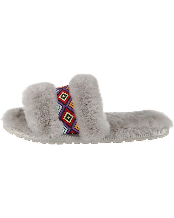 EMU Australia, Wrenlette Wrenlette Australia, Tribal Pantoffeln, grau b7887f