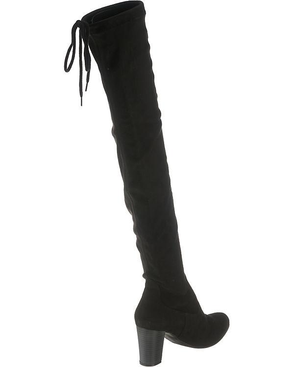 CAPRICE Britt Overknee Stiefel CAPRICE Stiefel Britt Overknee schwarz 7tqww4BSx