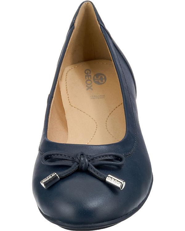 GEOX CHARLENE blau Ballerinas GEOX Klassische CHARLENE Klassische Ballerinas blau GEOX 1gwTgd