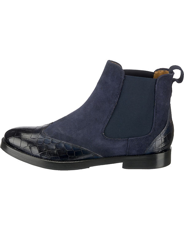 dunkelblau Chelsea Amelie Boots 13 HAMILTON amp; MELVIN zHqFCC