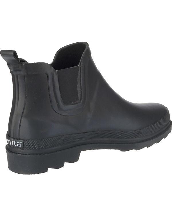 Ankle Boots Sanita schwarz Welly Fiona OwXqZf