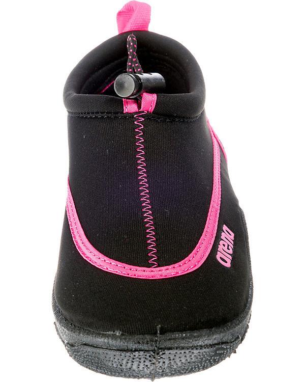 Badeschuhe Bow schwarz rosa rosa Badeschuhe Bow arena schwarz arena arena ZwwRqgPt