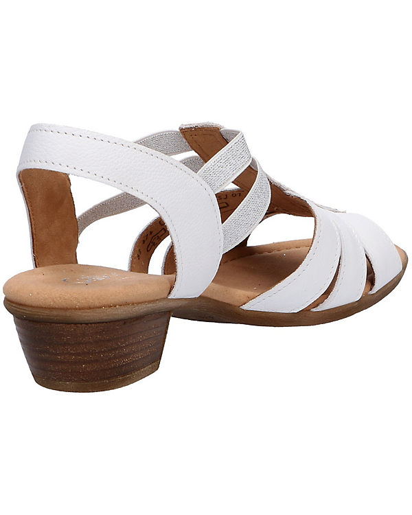 Sandaletten Klassische Gabor Gabor weiß Klassische qwagx7np6
