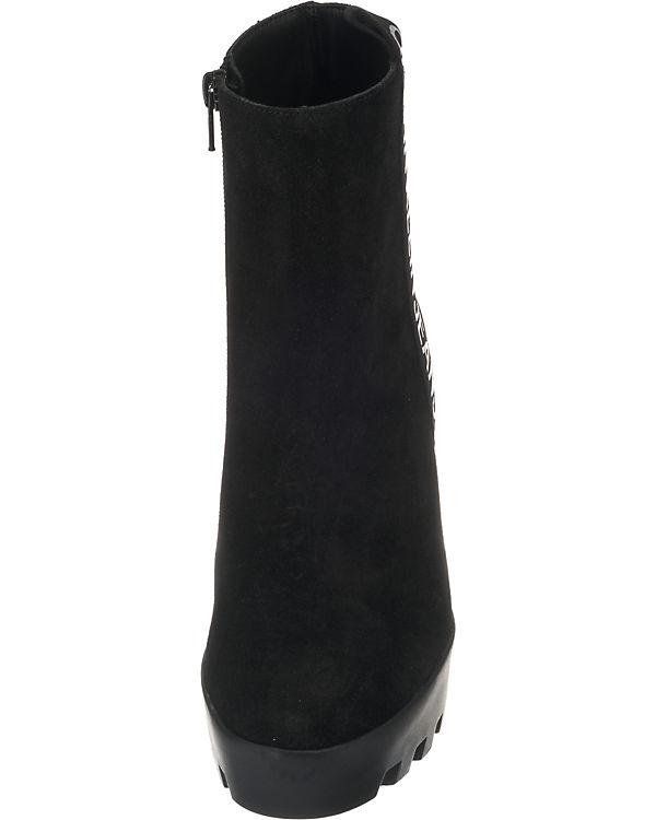 Calvin Klein, Klein, Klein, Serina Plateau-Stiefeletten, schwarz bc2866