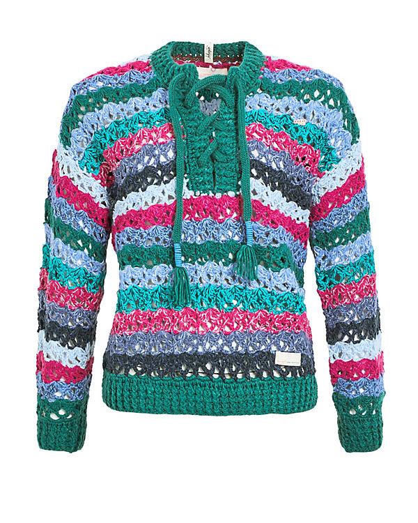 ANTHELIA Khujo Pullover grün Khujo Pullover qttxTrz