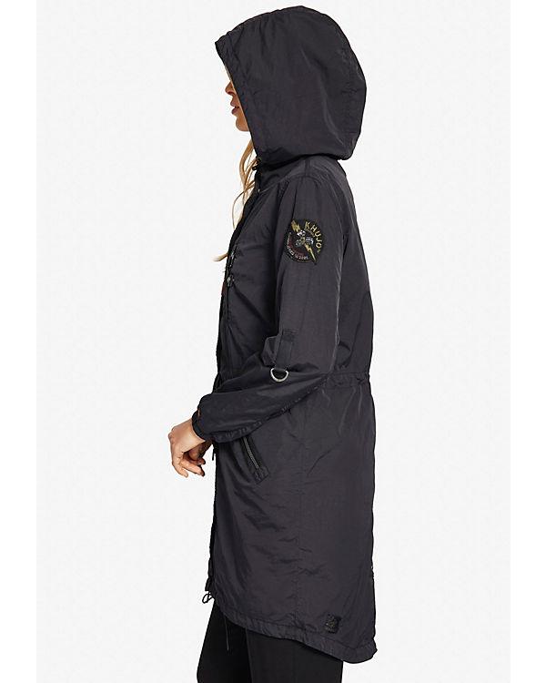 CORALIE CORALIE schwarz schwarz CORALIE Mantel Khujo Mantel schwarz Khujo Mantel Khujo Khujo Mantel dnwxnOA