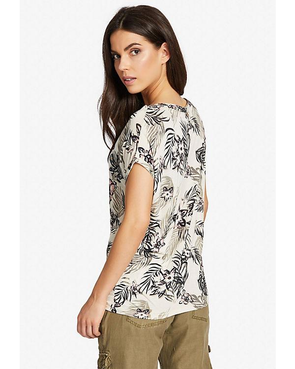 Billig Bester Verkauf Wahl Khujo Shirt ZAIDA FLOWER beige Auslass Der Billigsten KtE1tT1GX1