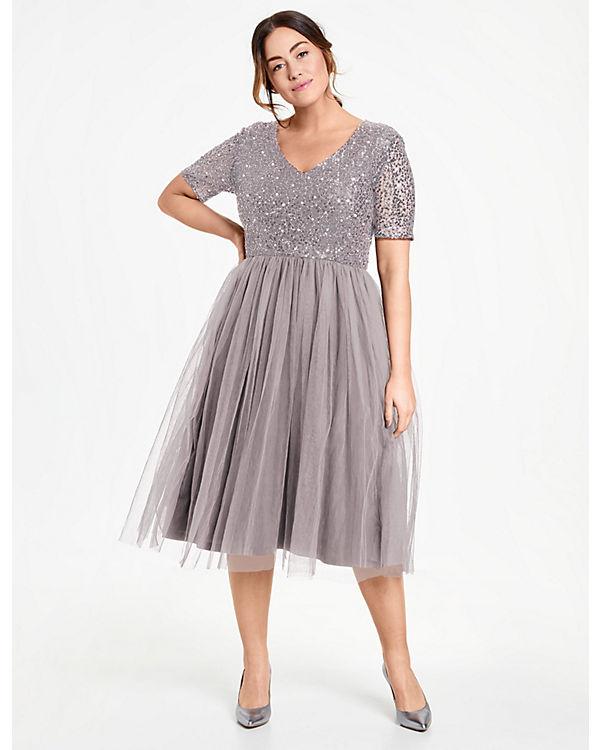 Samoon Abendkleid grau Abendkleid Samoon Abendkleid grau Samoon 5FBRwq