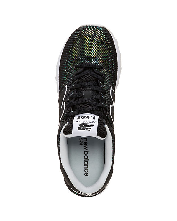 UBA Sneakers WL574 schwarz kombi new B balance Low TZI8qxEq