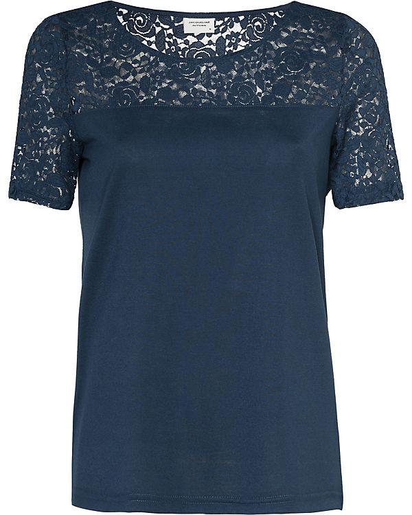 T Yong Shirt Jacqueline blau de 7wq1Fg