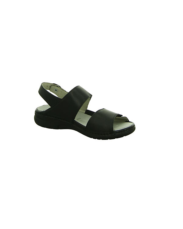 Komfort schwarz WALDLÄUFER Komfort WALDLÄUFER Sandalen 8wRWza