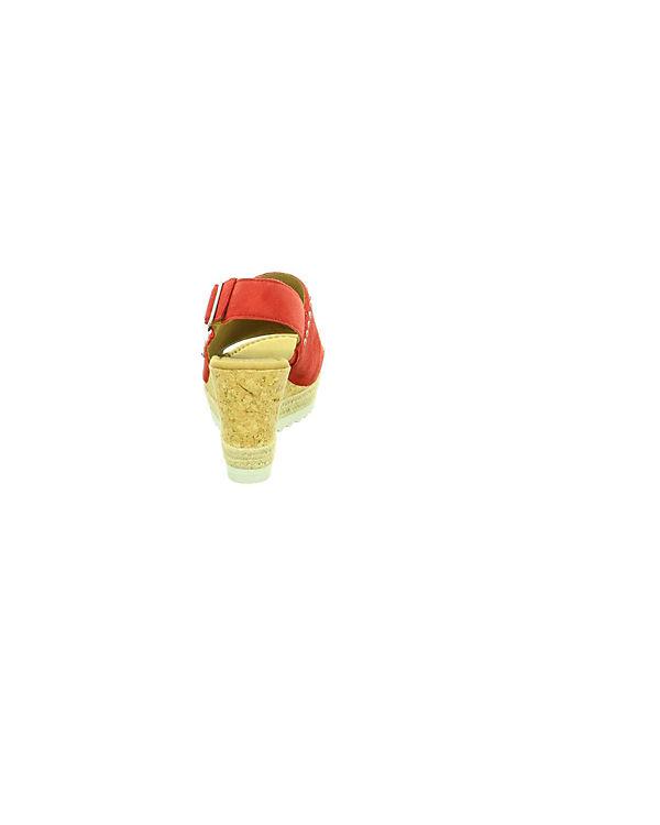 Gabor Keilsandaletten rot Mit Kreditkarte Günstig Online Freies Verschiffen Großhandelspreis QxJFZ6bD