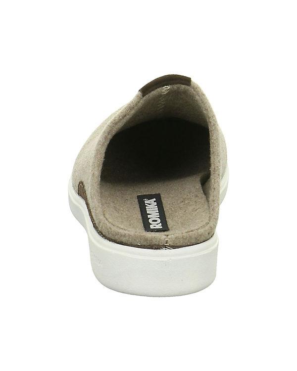 grau ROMIKA Pantoffeln Pantoffeln ROMIKA grau 6zIxIvw
