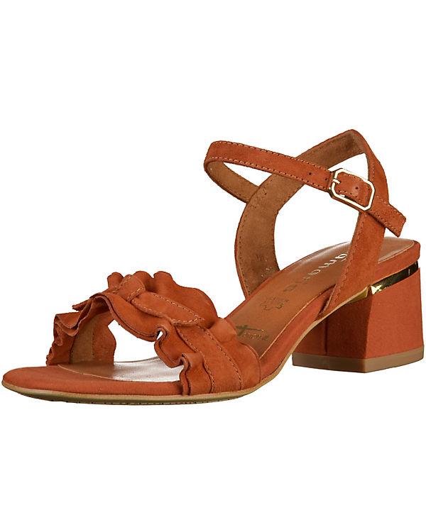 Tamaris Klassische Sandaletten hellbraun