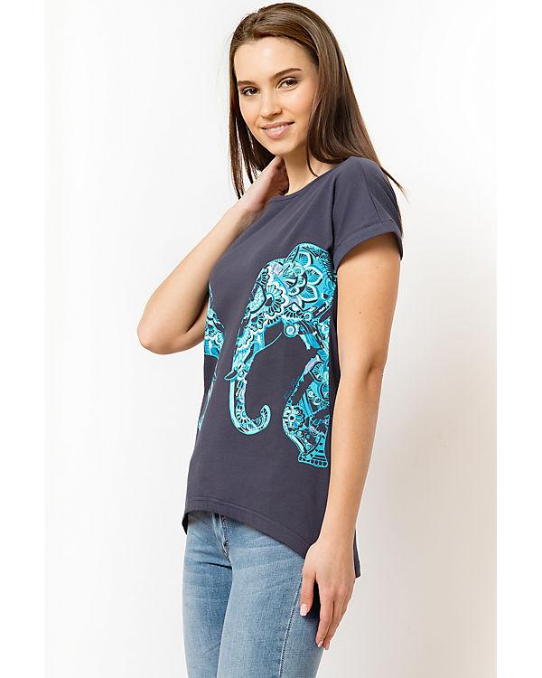 Flare Flare Shirt Finn Shirt T Finn blau T q1BA7E