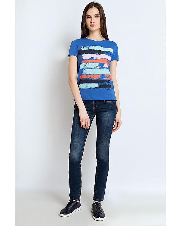 Flare Finn Finn Shirt Flare T blau qz0WBRW7
