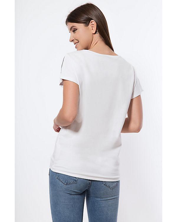 T Shirt weiß weiß T Shirt Finn Finn Flare Flare BaFwPxP