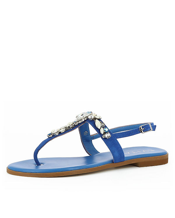 Sandalen OLIMPIA indigo Shoes Evita Klassische wCtq5