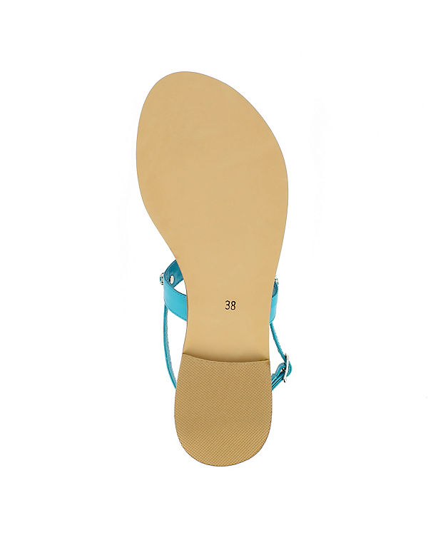 türkis Shoes Klassische Evita OLIMPIA Sandalen fOp7Hw