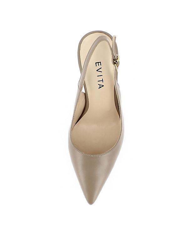 Sling Shoes champagner ILARIA Evita Pumps xzRnEHq4