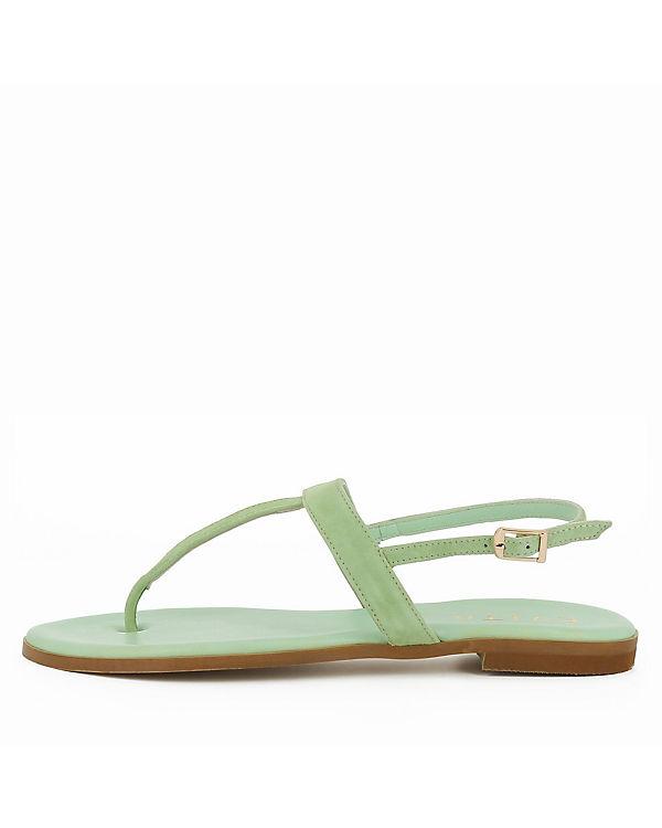 Evita Shoes, OLIMPIA Klassische Sandalen, grün grün Sandalen, 6cfbcd