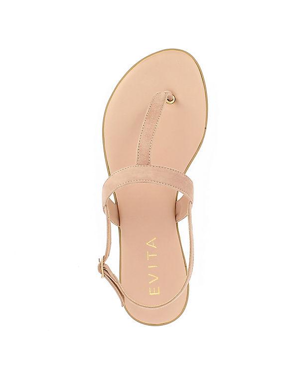 OLIMPIA Klassische Evita Sandalen altrosa Shoes 851qA