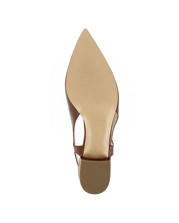 Evita Sling braun Shoes Shoes Pumps FRANCA FRANCA Evita 5gqRwz