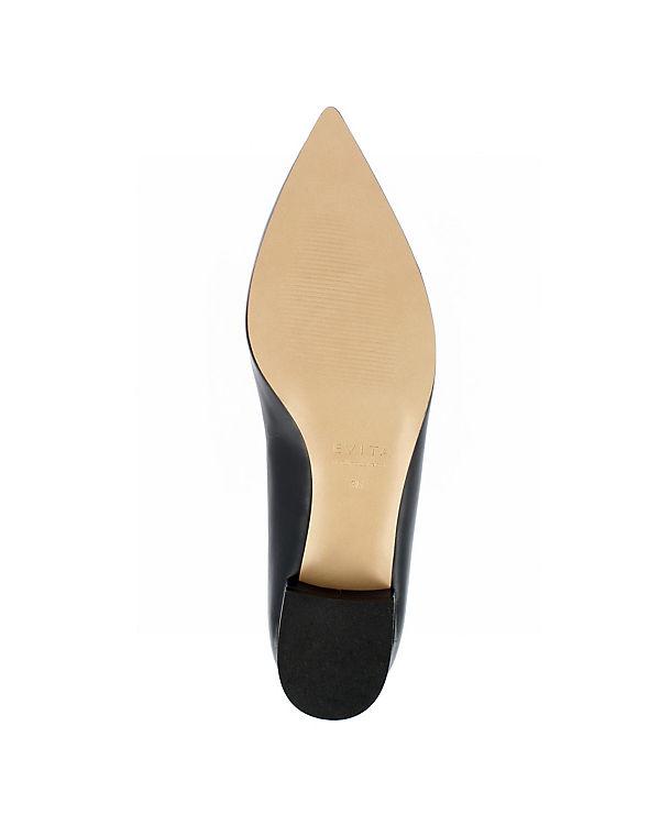 dunkelblau Shoes Slipper Evita FRANCA Klassische w4xSFxU0q