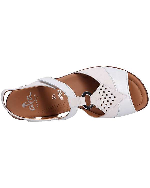 ara Sandaletten LUGANO ara Klassische Klassische Sandaletten weiß LUGANO r7Ovrq6
