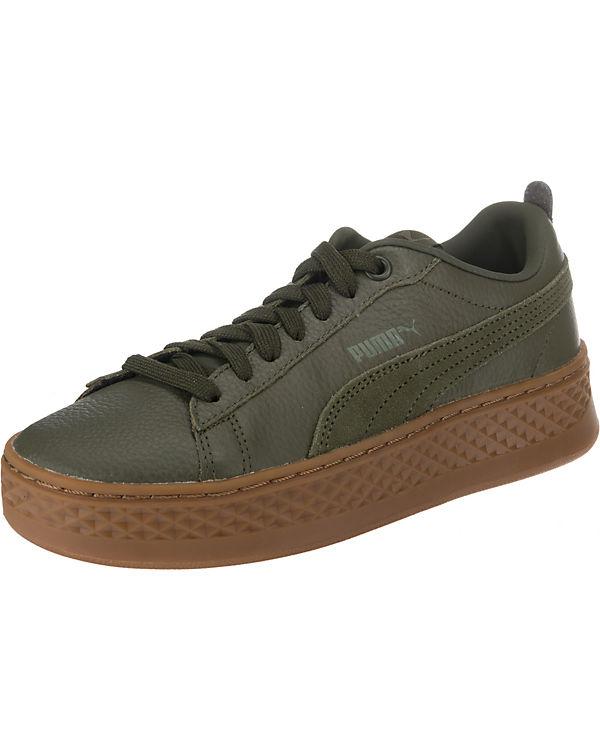Low PUMA PUMA Sneakers Sneakers khaki wtvFFxP