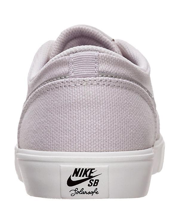 Sneakers hellgrau NIKE Low Portmore II SB Solarsoft TnIvqfWS7a