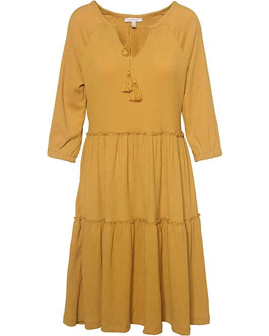 zuverlässigste fantastische Einsparungen 100% authentisch ESPRIT, Kleid, gelb
