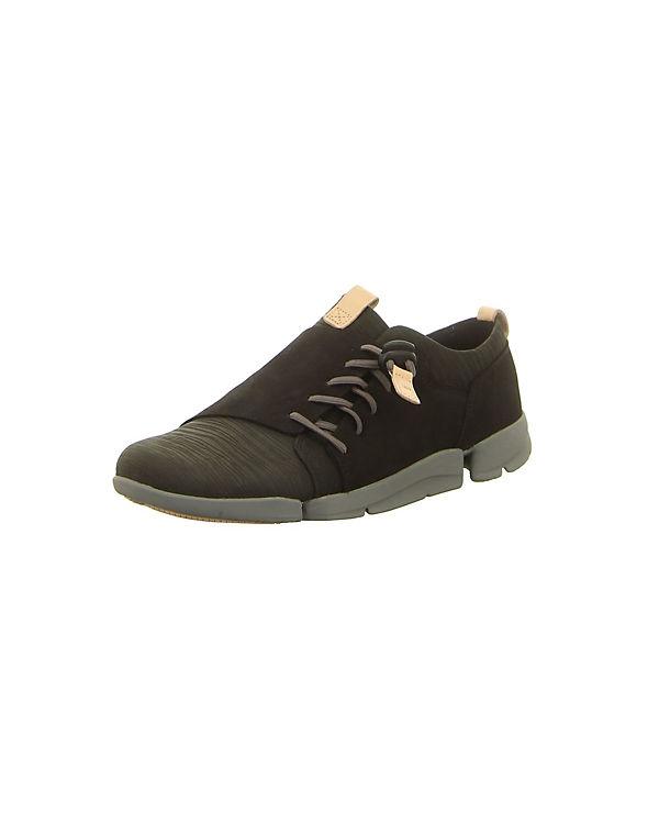 schwarz Clarks Clarks Low Sneakers Sneakers RT4Xqx8