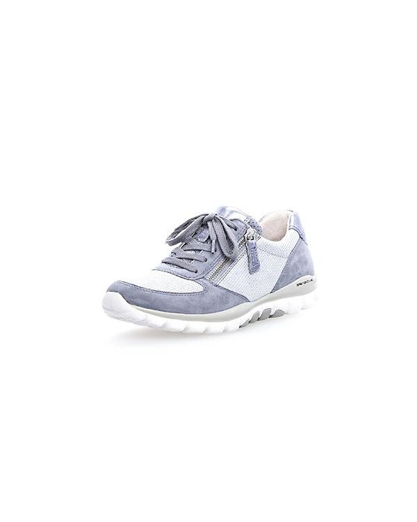 blau Gabor Gabor Sneakers Low Sneakers 41U4q