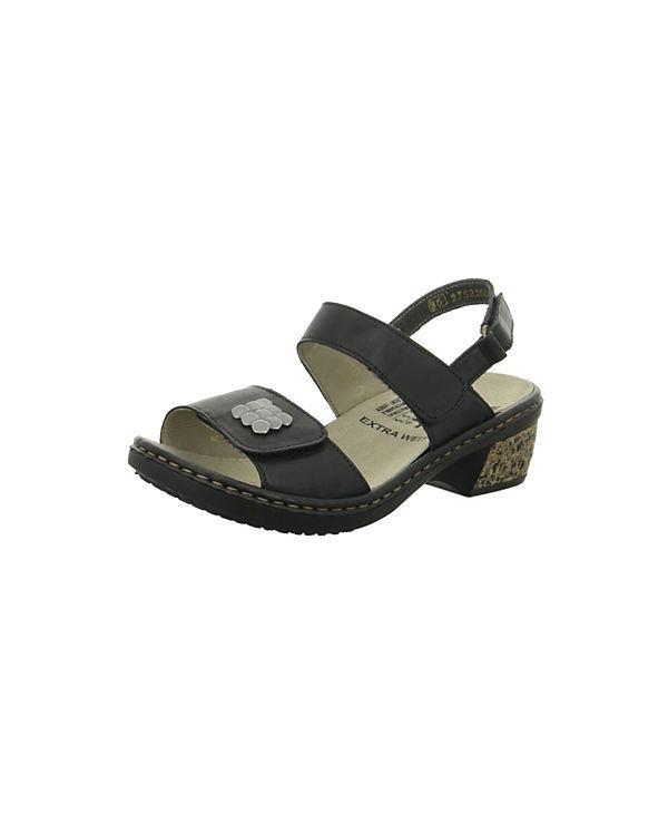 rieker Klassische schwarz Klassische Klassische Sandaletten schwarz rieker rieker schwarz Sandaletten rieker Sandaletten Klassische ZzxXz