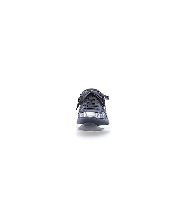 Low Sneakers Gabor blau Low Gabor Sneakers w78YnTx8