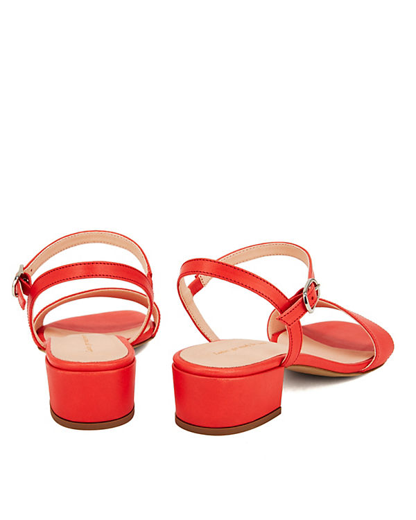 Klassische NINE TO FIVE sul Sandaletten rot qttrdzn