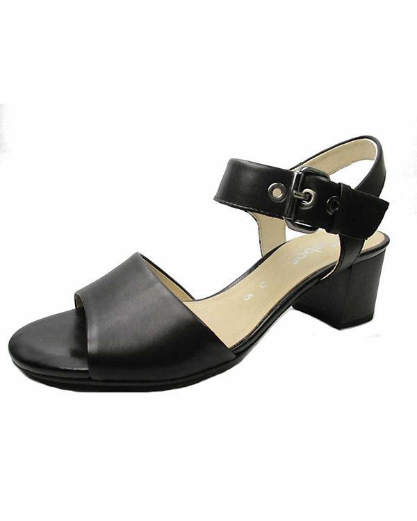 Gabor Klassische Sandaletten schwarz