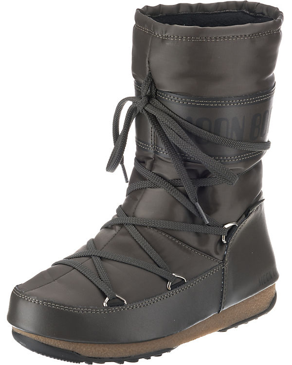 Moonboot, Shade Moon Boot W.E. Soft Shade Moonboot, Mid WP Winterstiefel, grau 0f26d3