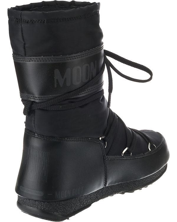 Moonboot, Shade Moon Boot W.E. Soft Shade Moonboot, Mid WP Winterstiefel, schwarz 774a8b