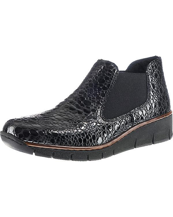 Boots rieker rieker Chelsea Boots schwarz Chelsea 1IBwnZq0
