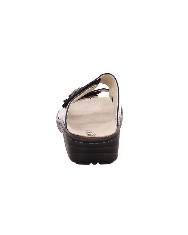 Komfort Longo Perlatoin gold bronze Pantoletten 1006389 qtfxHfSvnw