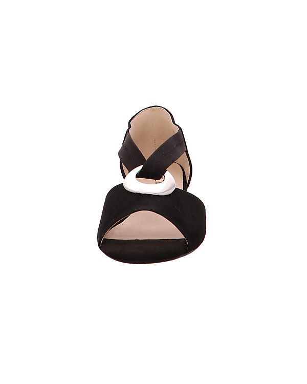 Klassische Sandalen Nubuk28111 004 schwarz CAPRICE Xxw14CZEq1