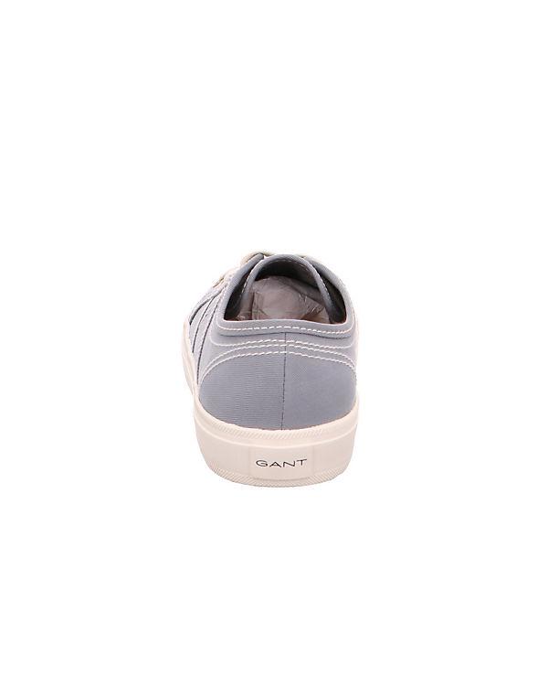 GANT, Low, Zoe Textil 16538451 Sneakers Low, GANT, grau 5f3dc5